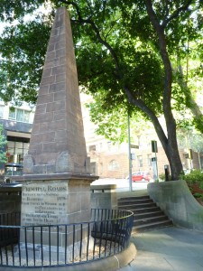 Macquarie Place Obelisk